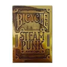 Bicycle Steampunk Gold