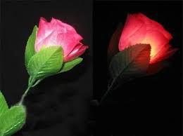 Flor com D'lite Vermelho