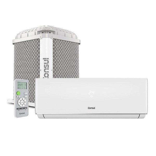 4088d3503 Ar Condicionado Split Hw On Off Consul 12000 Btus Quente Frio 220v  Monofásico