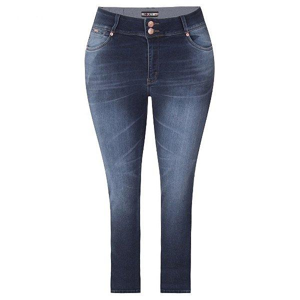 Calça Jeans Plus Size Cigarrete