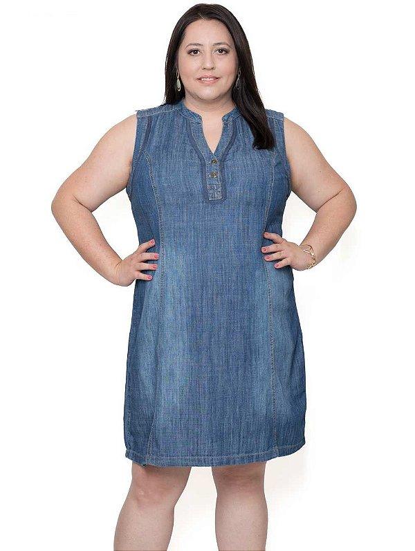 f4597b81e92b Vestido Jeans Verão Plus Size - Roupa Plus Size Feminina | Compre ...