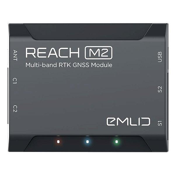 GPS Emlid Reach M2 - Dupla frequência para VANT e Drone