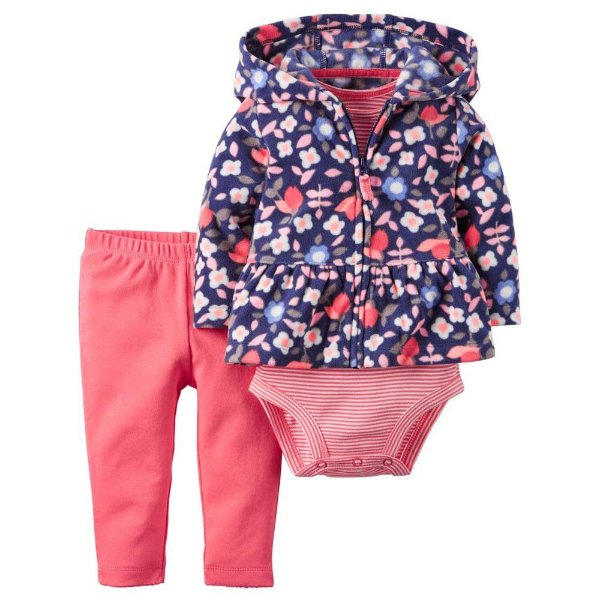 CONJUNTO FLEECE FLORIDO