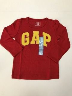 CAMISETA MANGA LONGA RED GAP