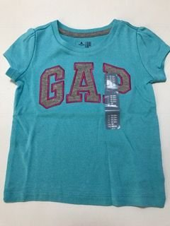 CAMISETA AZUL GAP