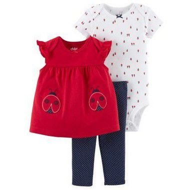 CONJUNTO JOANINHA CHILD OF MINE BY CARTER'S