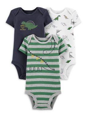 KIT DE BODIES DINOSSAUROS CHILD OF MINE BY CARTER'S