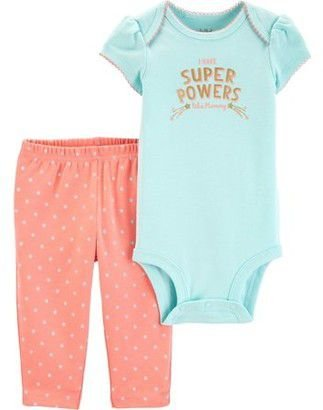 CONJUNTO SUPER POWERS CHILD OF MINE BY CARTER'S