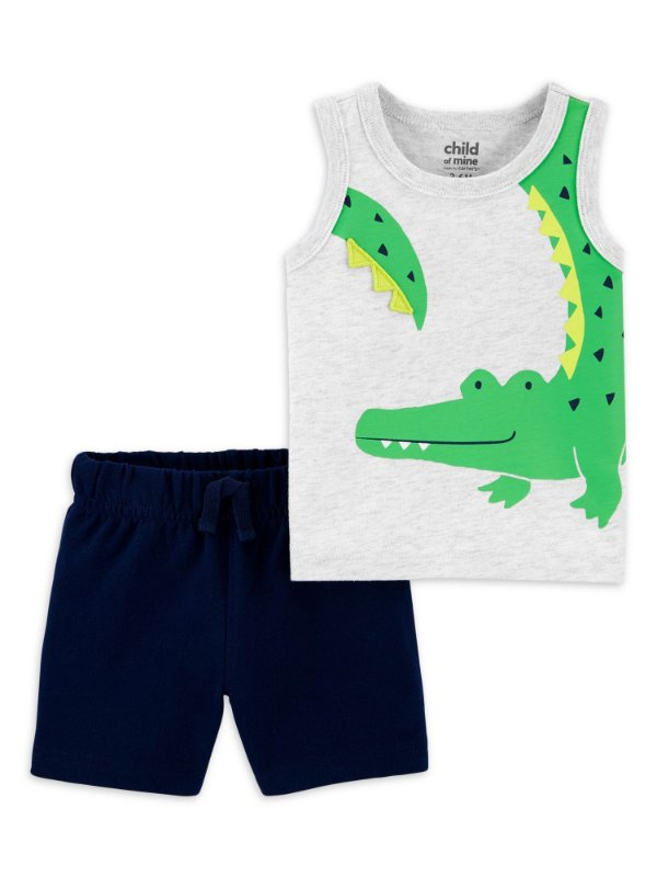 CONJUNTO ALIGATOR CHILD OF MINE BY CARTER'S