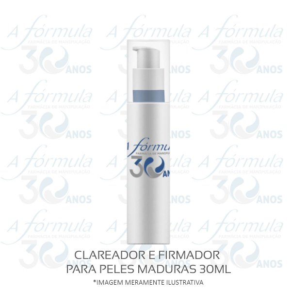 CLAREADOR E FIRMADOR PARA PELES MADURAS 30ML