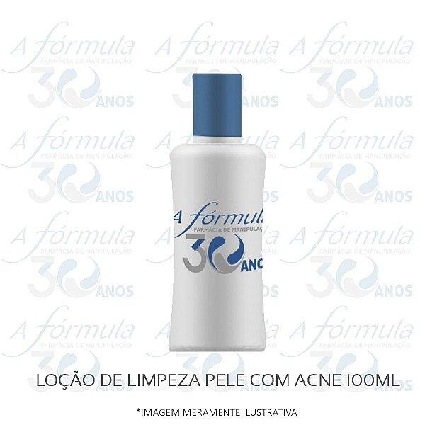LOÇÃO DE LIMPEZA PELE COM ACNE 100ML