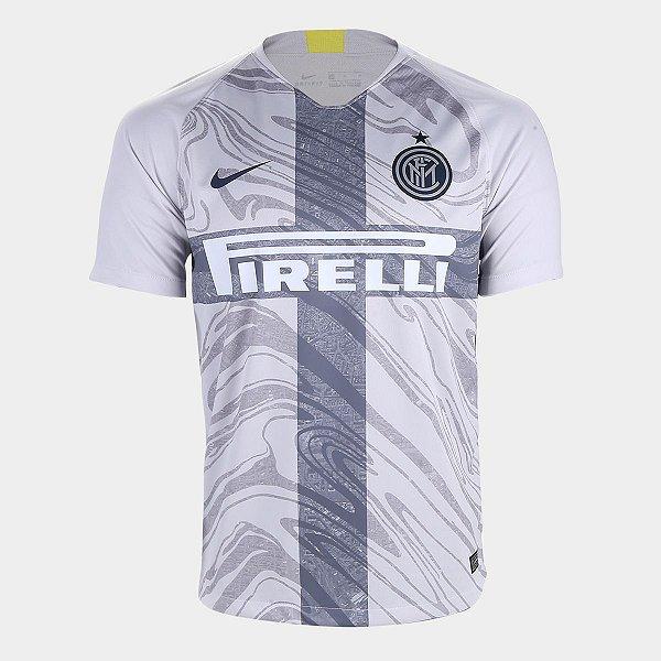 ... Camisa Inter de Milão Third 2018 s n° - Torcedor Nike Masculina - Cinza  be2133da37bdc9 ... 3d2aeb5b97926