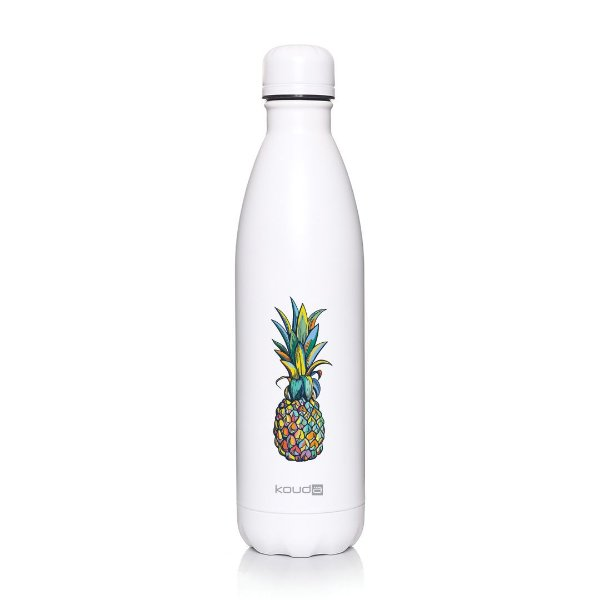 Garrafa Térmica Grey Pineapple 500ml  - KOUDA