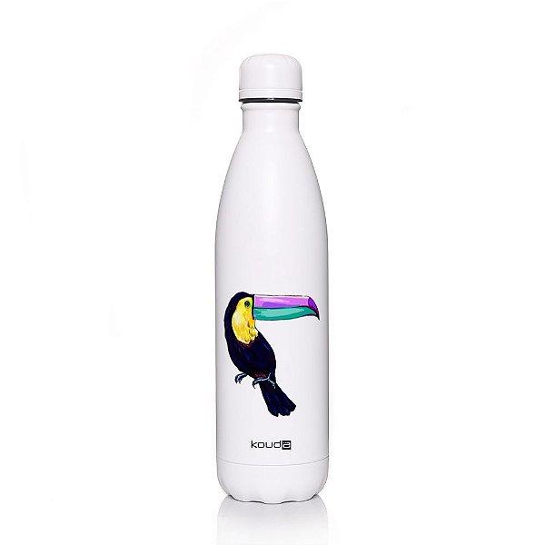 Garrafa Térmica Grey Toucan 750ml  - KOUDA