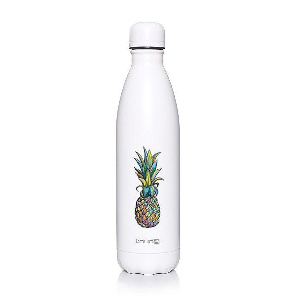 Garrafa Térmica Grey Pineapple 750ml  - KOUDA
