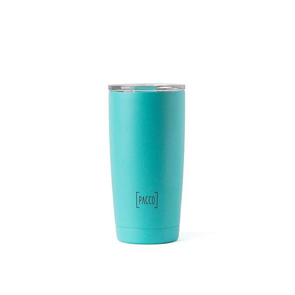 Copo Térmico Thermo Cup Turquesa 600ml - PACCO