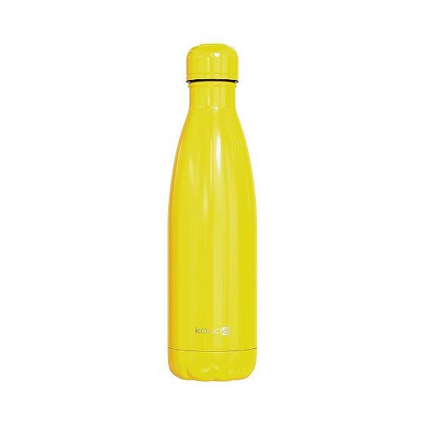 Garrafa Térmica Grey Amarela 500ml  - KOUDA