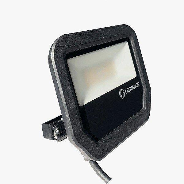 Refletor Osram Ledvance Floodlight Pfm 30w/850 Bk - 5000k