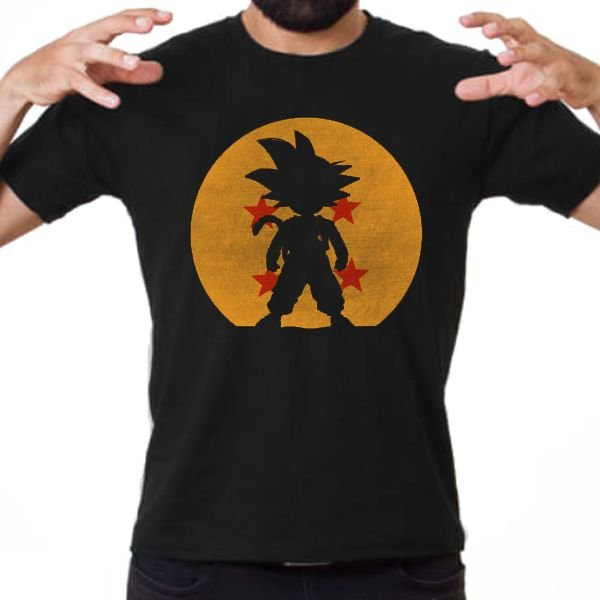 Blusa - Son Goku - Dragon Ball