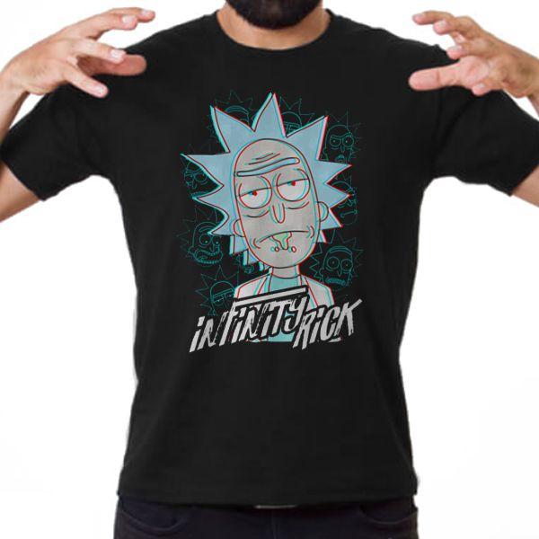 Camiseta Unissex - Infinity Rick