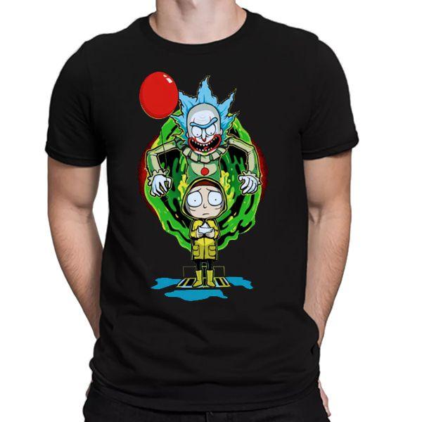 Camiseta Unissex - It and Morty