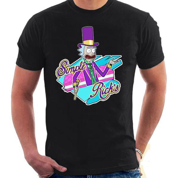 Camiseta Unissex - Simple Rick
