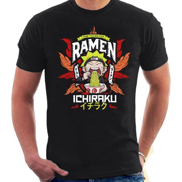 Camiseta Unissex - Naruto Ramen Anime
