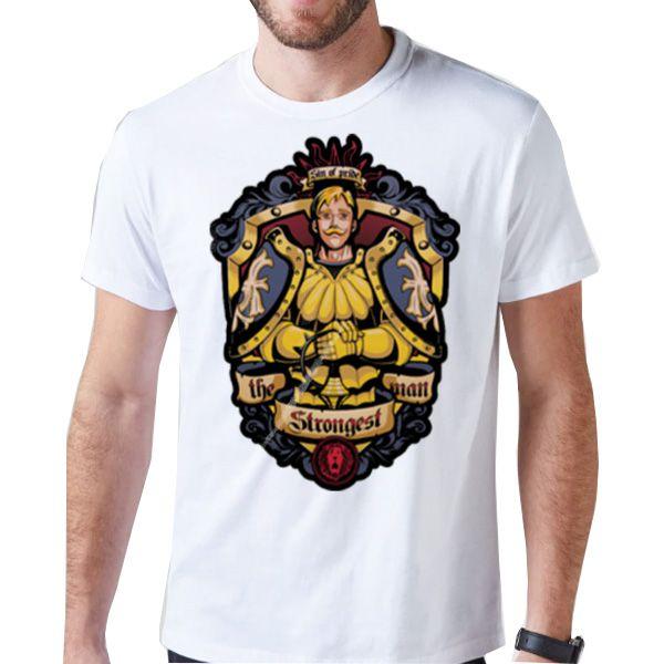 Camiseta Unissex - Escanor - Nantsune no Taizai