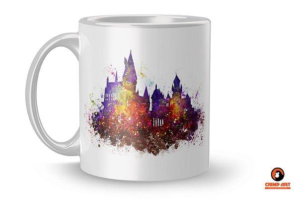 Caneca Harry Potter - Hogwarts Vermelha