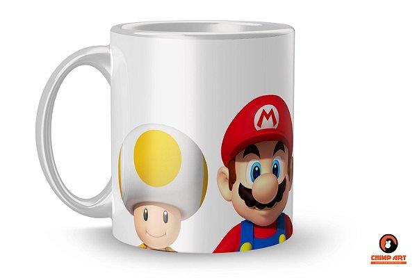 Caneca Super Mario - Turma