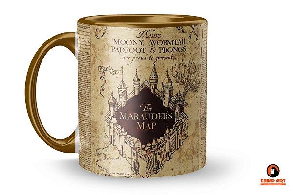 Caneca Harry Potter - Mapa do Maroto