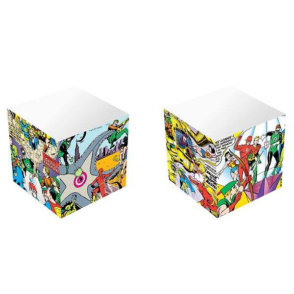Bloco de Anotação Cubo DC - Justice League Big Fight