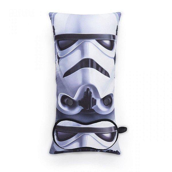 Almofada e Máscara - Star Wars - Saga Stormtrooper
