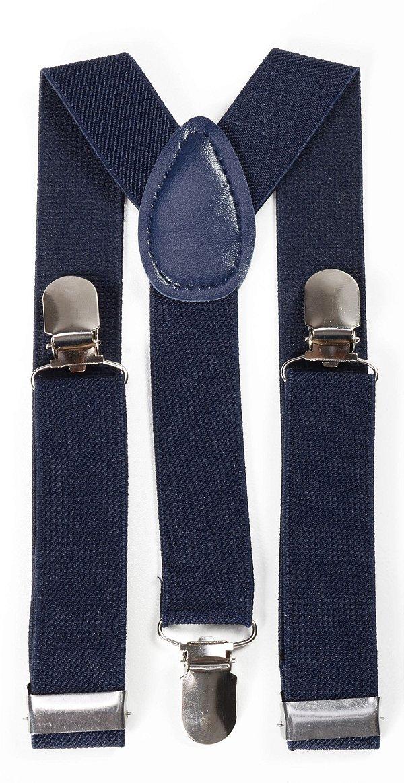 Suspensório Infantil Azul Marinho Fino 2,5cm