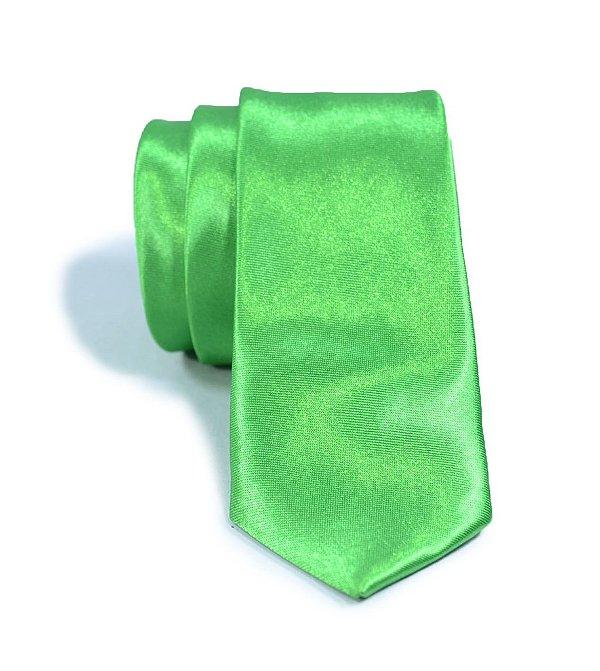 Gravata Slim Fit Verde
