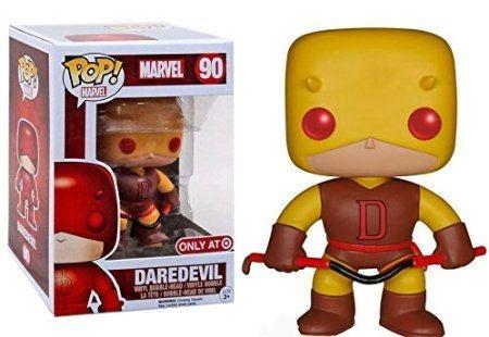 Funko Pop Daredevil (Demolidor) Yellow Classic Exclusivo
