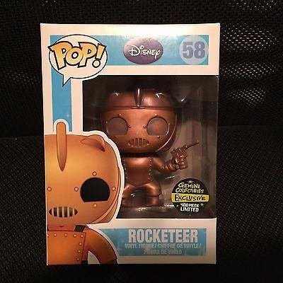 Funko Pop Disney Exclusive Rocketeer Gemini