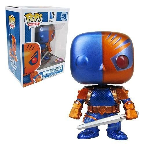 funko pop deathstroke metallic Exclusivo