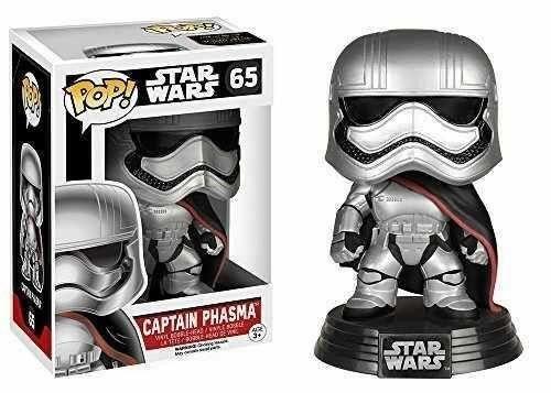 Funko Pop Star Wars Episode VII Captain Phasma Pronta Entrega