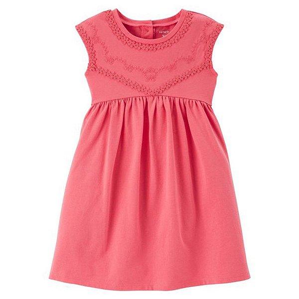 Vestido Carter's Jersey para meninas