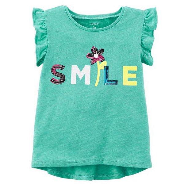 Camiseta Carters Smile
