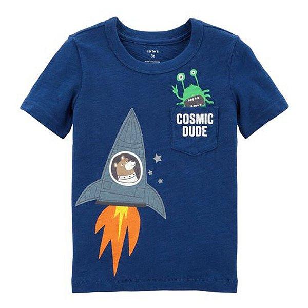 Camiseta Carters Urso Astronauta