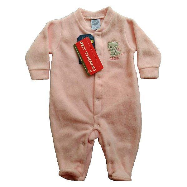 Pijama de soft para Bebês - Rapozinha