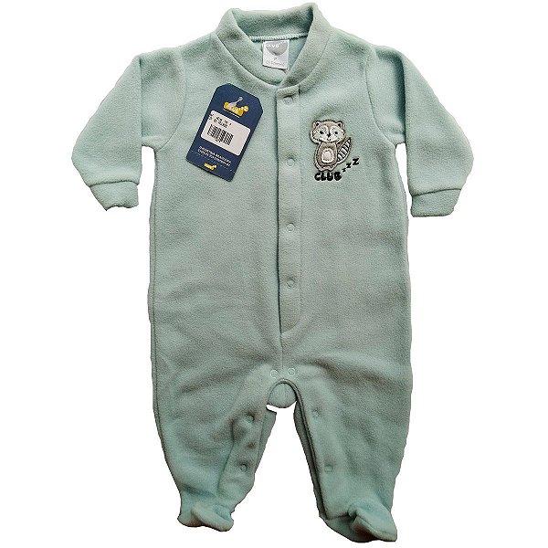 Pijama de Soft para Bebês - Guaxinim