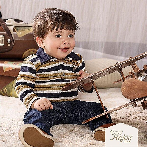 Conjunto de Inverno para Bebês - Aviãozinho