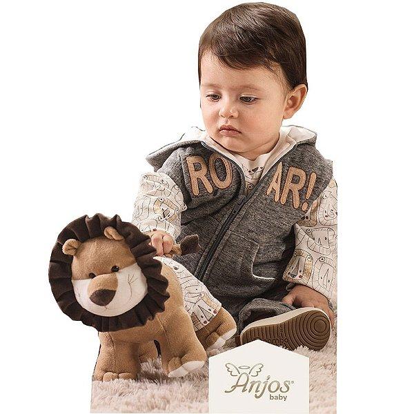 Conjunto Inverno para Bebês Leãozinho