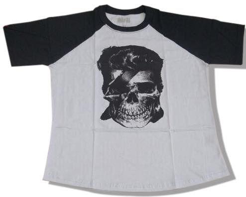 Camiseta Caveira David Bowie