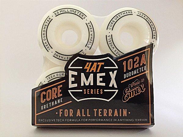 Rodas Emex Series 53mm White