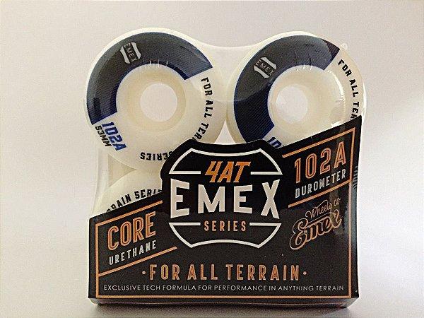 Rodas Emex Series 53mm Black