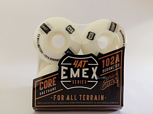 Rodas Emex Series 54mm White Core